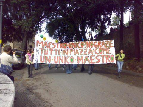 FOTO ALBUM: a Roma contro la riforma Gelmini