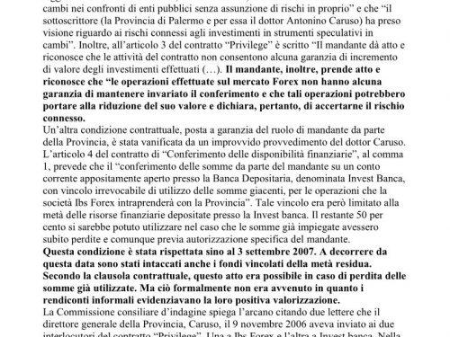 Link Sicilia 28/2/2012: I retroscena dell'affare Ibs Forex-Caruso