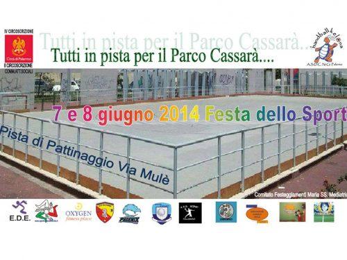 Comunicato Stampa: Tutti in pista per il Parco Cassarà