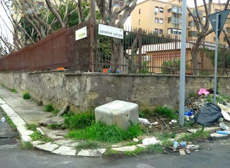 Comunicato Stampa: Via Pelligra, bonificata discarica davanti asilo nido