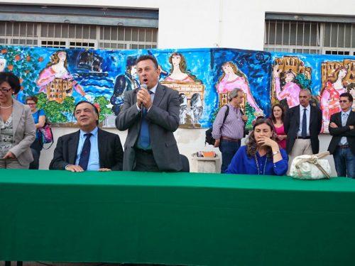 Comunicato Stampa: Riapre la scuola Cavour, è festa