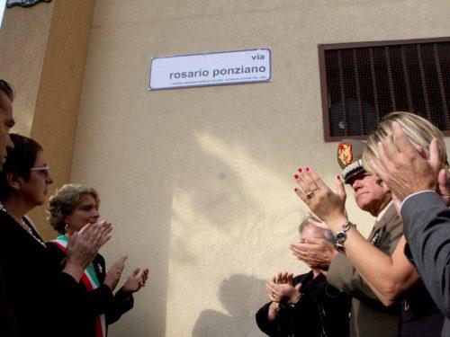 Foto Album: Intitolazione via Rosario Ponziano
