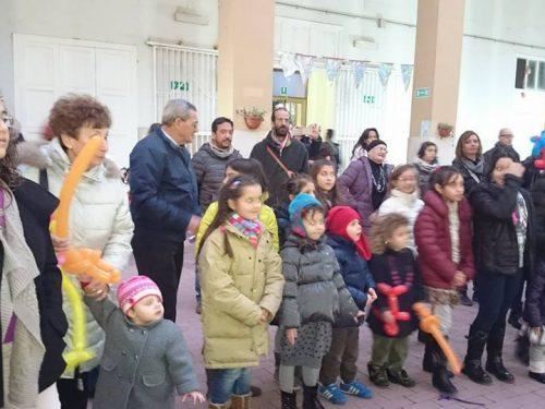 Festa della Befana della IV Circoscrizione all'Oasi di Via Quarto dei Mille
