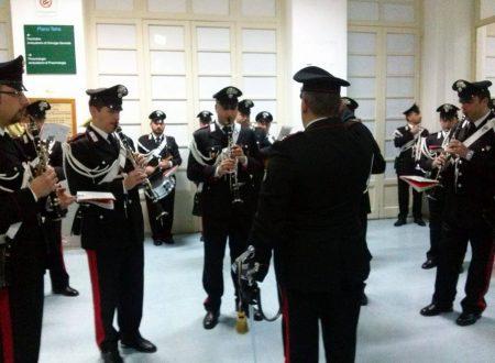 All'Ospedale Ingrassia, con la fanfara dei carabinieri