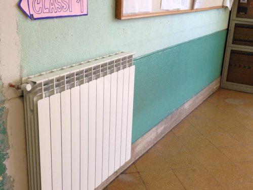 Scuola Bonanno, riscaldamenti attivi dopo 40 anni