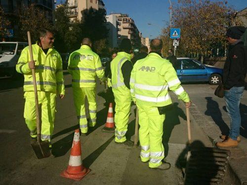 Comunicato Stampa: Via Tricomi, ripulite le caditoie nei pressi dell'ospedale Civico