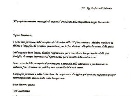 Gli Auguri al Presidente Sergio Mattarella!
