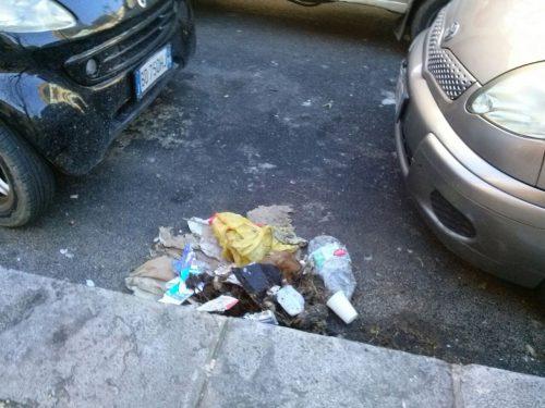 La Rap pulisce corso Calatafimi