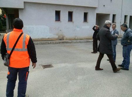 Partono i lavori alla scuola Antonio Ugo, consentiranno la fine dei doppi turni alla Bonanno