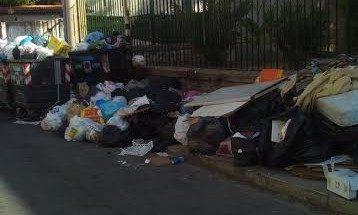 Rifiuti davanti la scuola  E' emergenza a Borgo Molara
