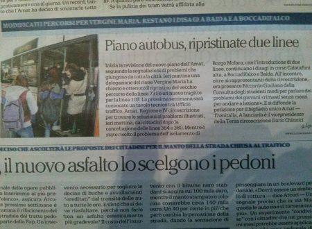 Repubblica e Giornale di Sicilia parlano del Consiglio Straordinario di ieri