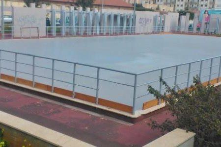 Via Mulè, la pista d pattinaggio riconsegnata alla città