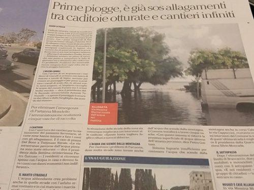 Su la Repubblica – Palermo del 9 settembre 2016