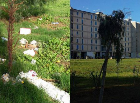 Restituito alla città Largo Verdinois, foto di com'era e com'è adesso