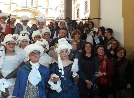 Palermo, studenti in abito d'epoca per Panormus