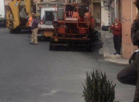 Via Molara, terminati lavori di rifacimento del manto stradale